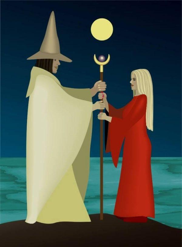 Merlin und Vivian