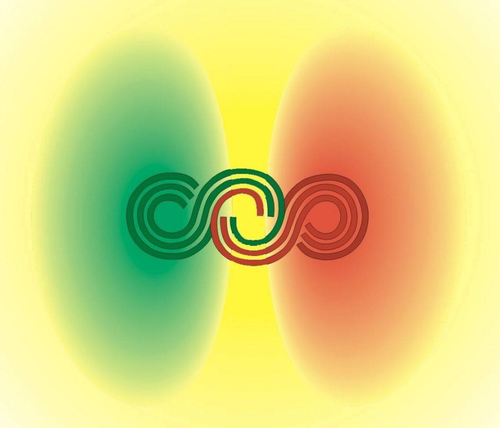 Die Wechselwirkung der Materie ließ aus den Polen etwas Drittes entstehen - Materie und das Leben.....