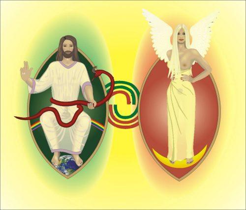 .....und es entstanden Mann und Frau als derzeit höchste Form von Polarität.....