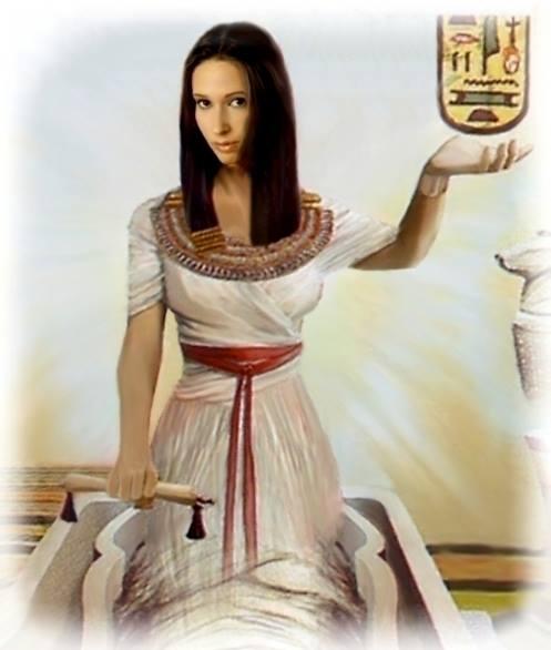 Die weibliche Göttlichkeit erhebt sich....