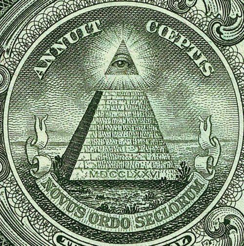 """....die """"Dollarpyramide"""""""