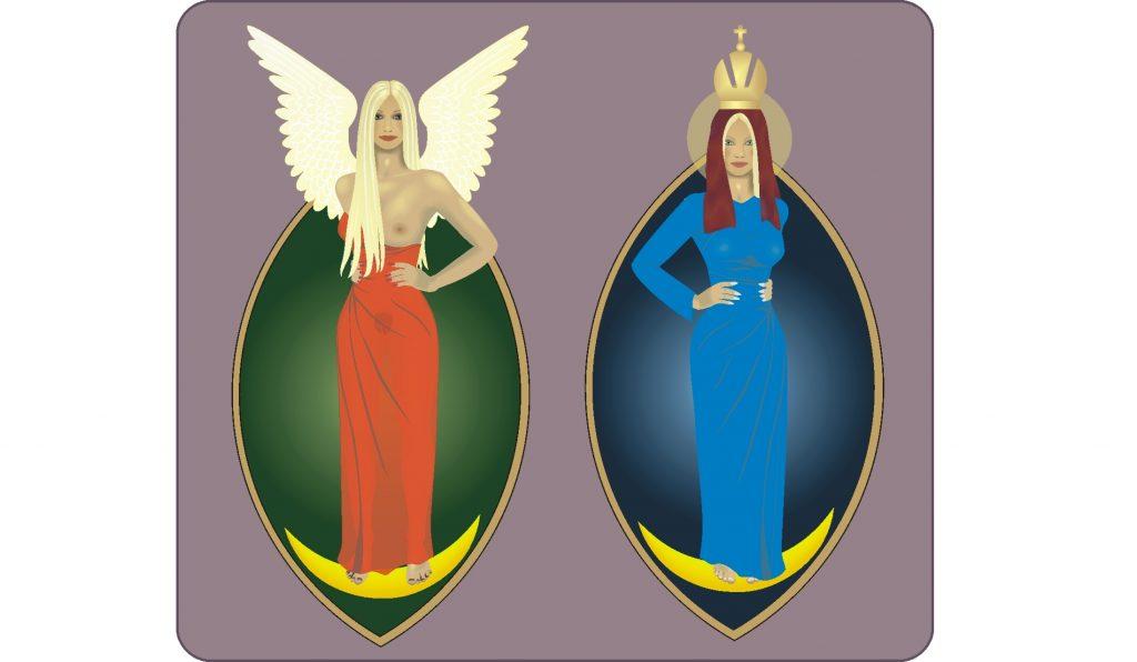 """Die """"Himmelskönigin"""" - vor und nach Erfindung von Religion"""