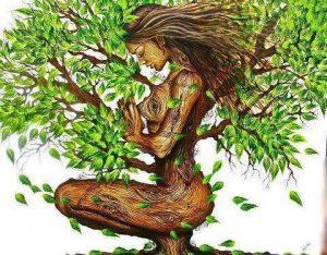 Die grüne Göttin