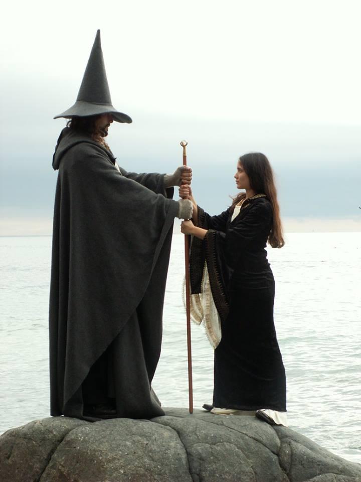 Die Geschichte von Merlin und Vivian